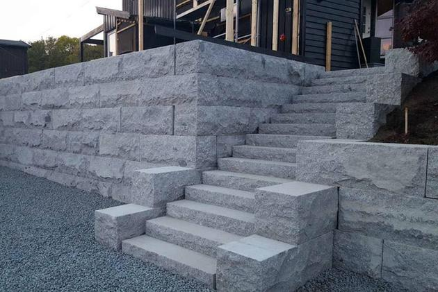 Granite Stair Step 05