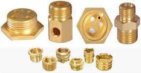 Brass Geyser Components