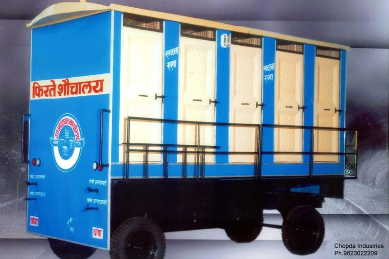 10 Seater Mobile Toilet Van