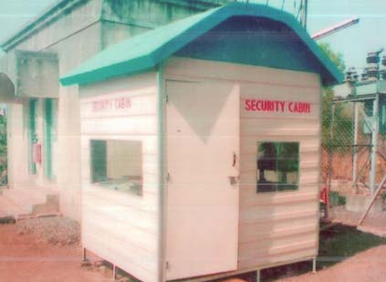 7 by 7 Security Cabin