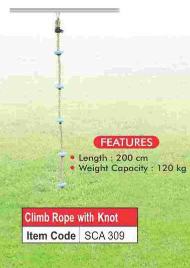 Climbing Rope With Knots