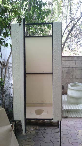 FRP Single Seater Toilet Blocks
