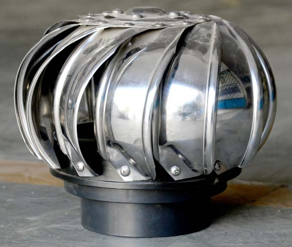 Wind Turbo Ventilator (4 Inch)