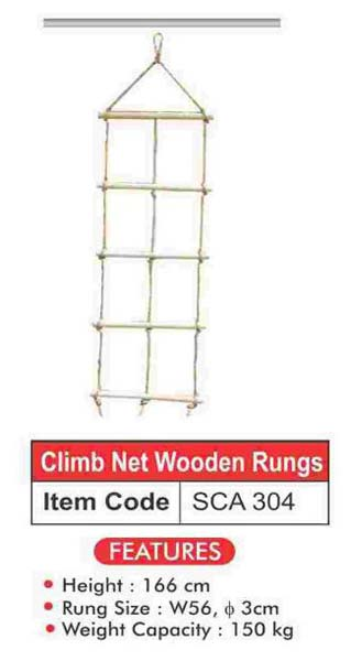 Wooden Rope Ladder (SCA 304)