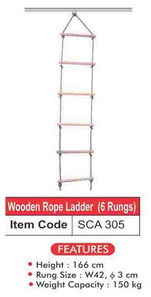 Wooden Rope Ladder (SCA 305)