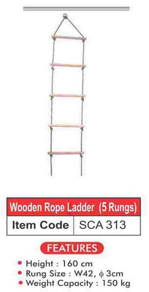 Wooden Rope Ladder (SCA 313)