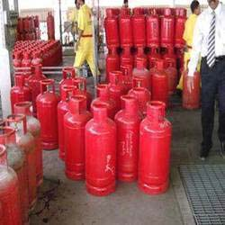 Empty Gas Cylinders