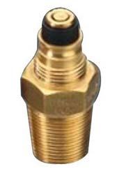 Self Closing Gas Cylinder Valve