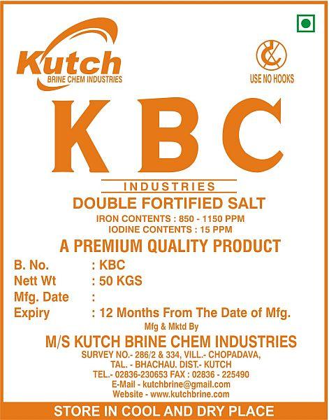 Double Fortified Salt