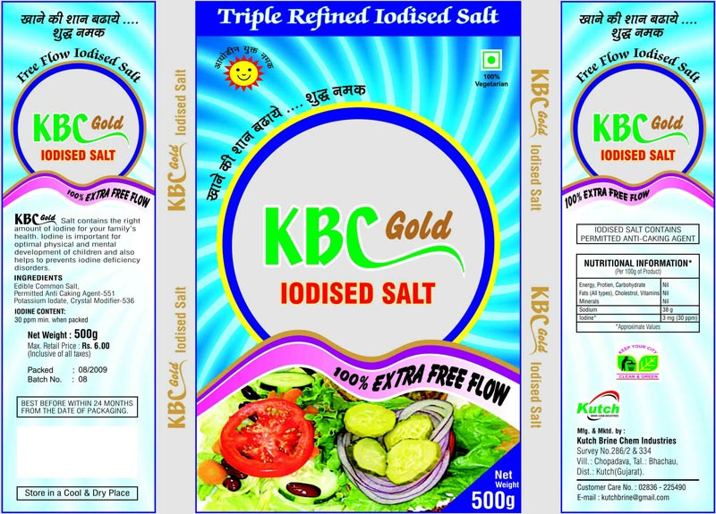 KBC Gold Salt