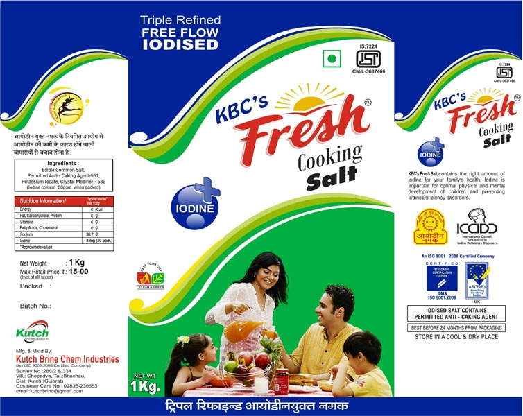 KBC\'s Fresh Cooking Salt