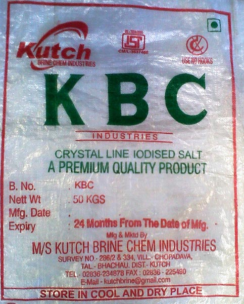 Refined Crystalline Salt