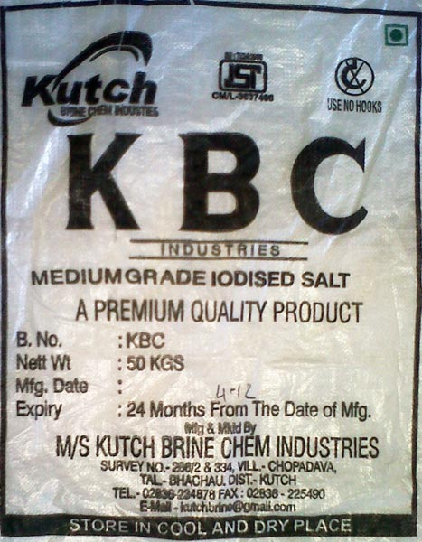 Refined Medium Salt