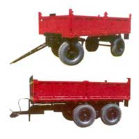 Four Wheeler Tractor Trolley