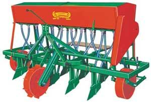 Zero Tillage Seed Fertilizer Drill