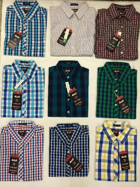 H/S Check Shirt