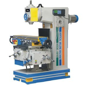 Heavy Duty Geared Vertical Milling Machine