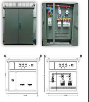 Low Voltage Lighting Control Panel
