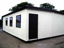 Sheet Metal Portable Cabins