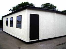 Sheet Metal Portable Cabins