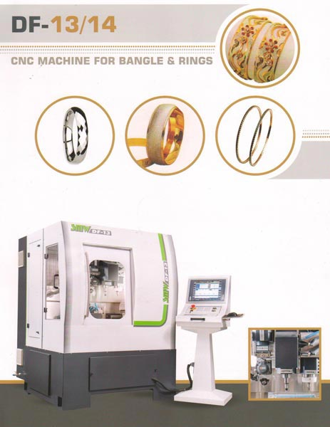 Bangle & Ring Making Machine (DF 13 /14)