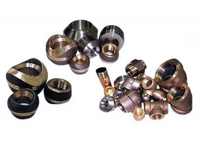 Copper Nickel Screwed Pipe Fittings