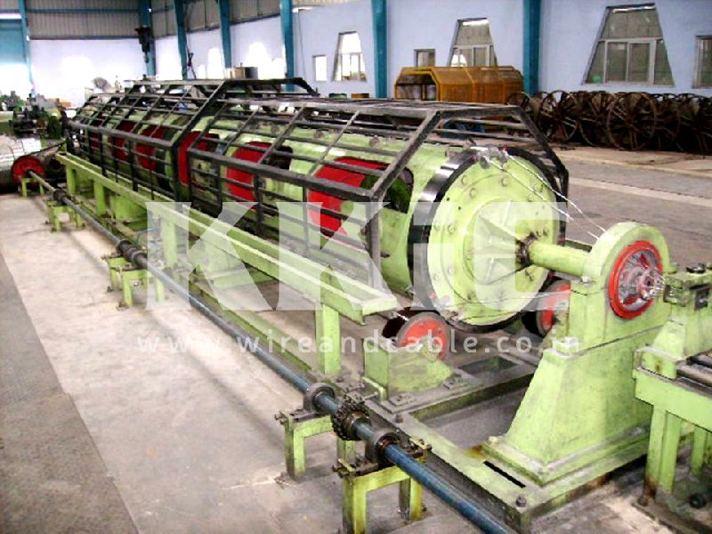 Tubular Stranding Machine 01