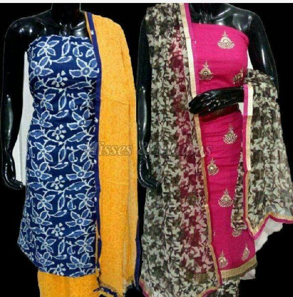 Ladies Cotton Suit Material 01