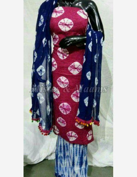 Ladies Cotton Suit Material 03