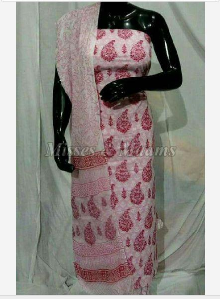 Ladies Cotton Suit Material 06