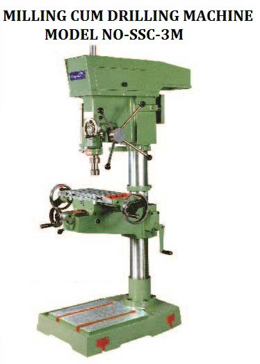 S-3M Milling Cum Drilling Machine