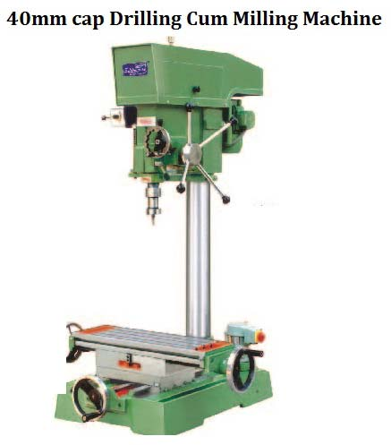 SSC-6DMU Cap Drilling Cum Milling Machine