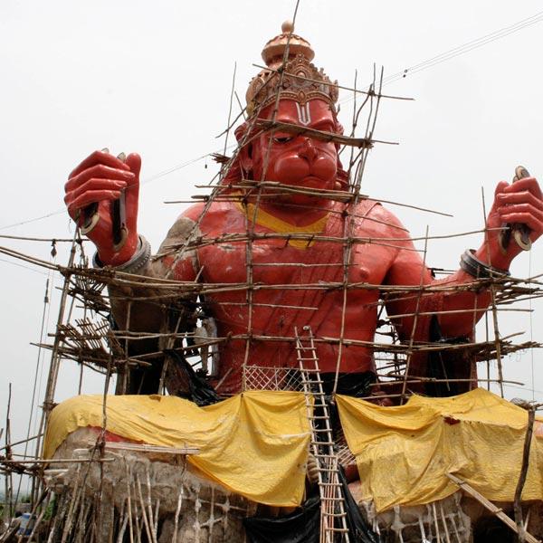 Fiber Statue
