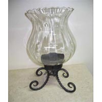Iron Hurricane Lamps