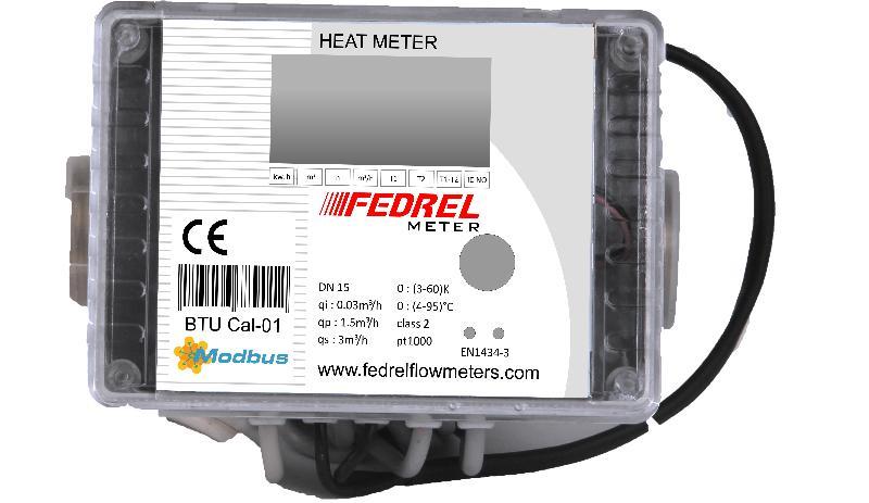 Ultrasonic BTU Flow Meter