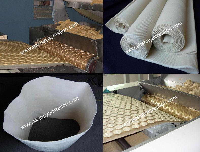 Endless Canvas Conveyor Belt