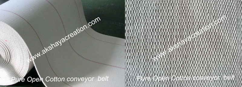 Open Roll Type Cotton Conveyor Belt