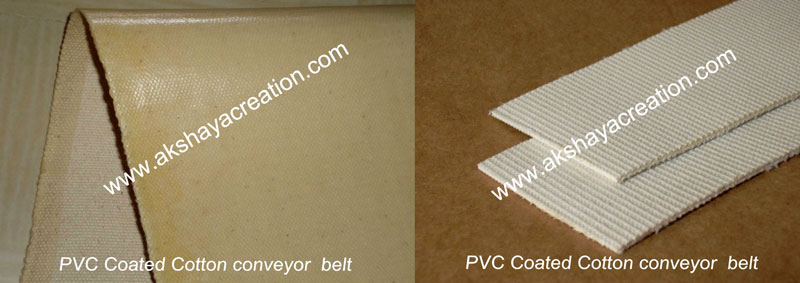PVC Coated Cotton Conveyor Belt