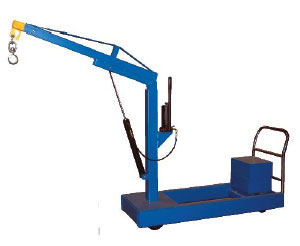 Counterbalanced Hydraulic Floor Crane