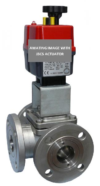Electric Stainless Steel 2 Way Flanged ASA150 firesafe Ball Valve