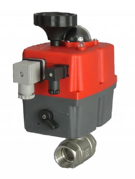 Electric Stainless Steel GE 2 Piece Ball Valve