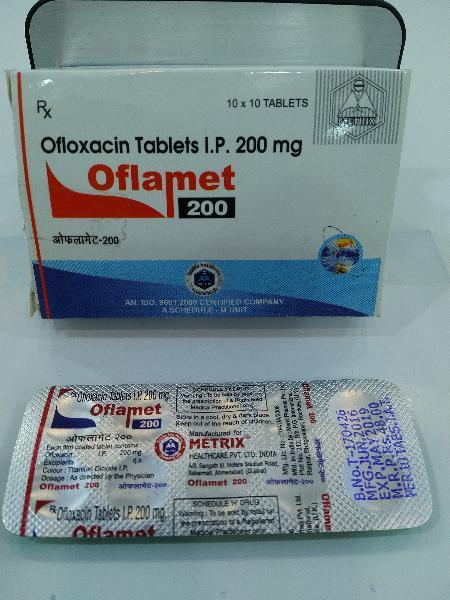 Oflamet 200 Tablets