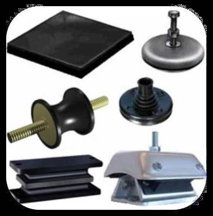 Anti Vibration Mounting Pads