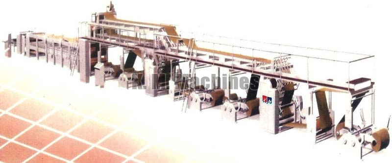 Automatic 5 Ply Paper Corrugated Board Making Plant