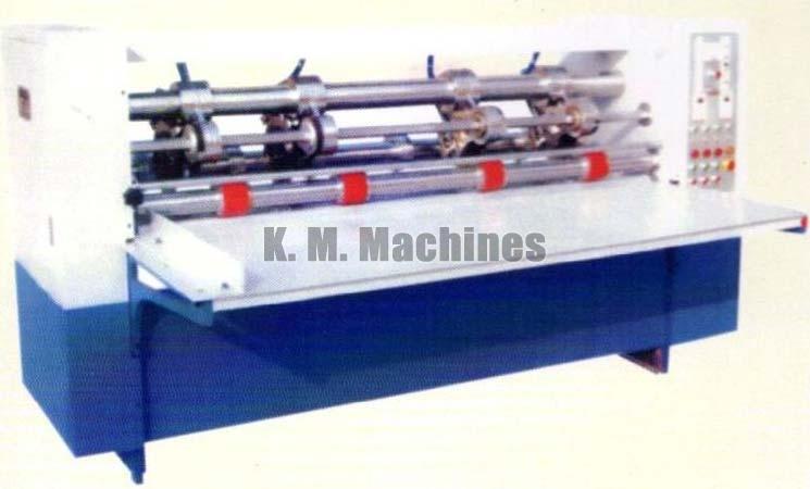 Thin Knife Paper Slitting and Creasing Machine