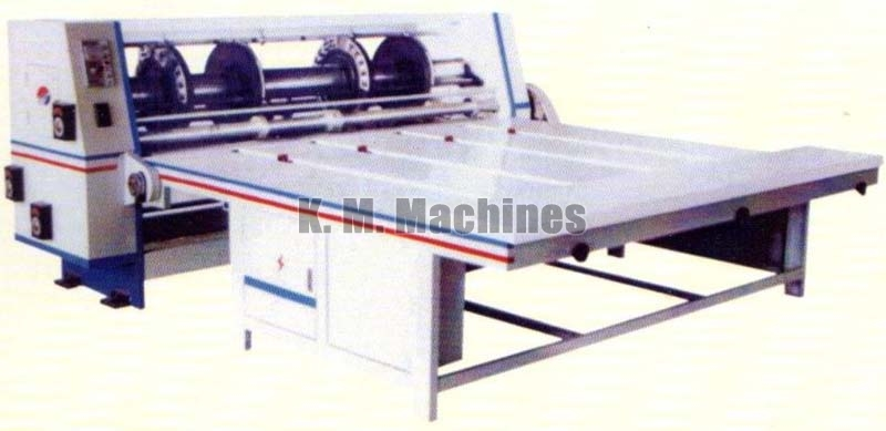 Corrugated Board Creasing, Slitting, Slotting & Corner Cutting Machine