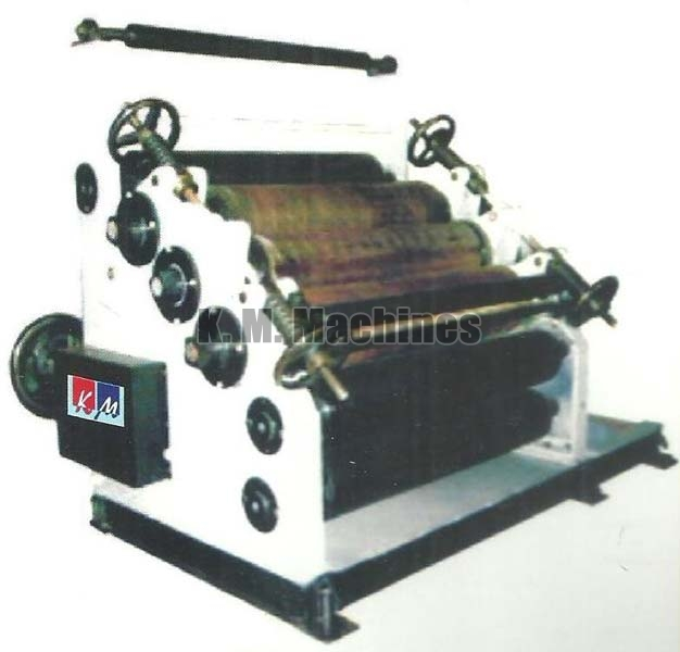 High Speed Single Paper Corrugating Machine