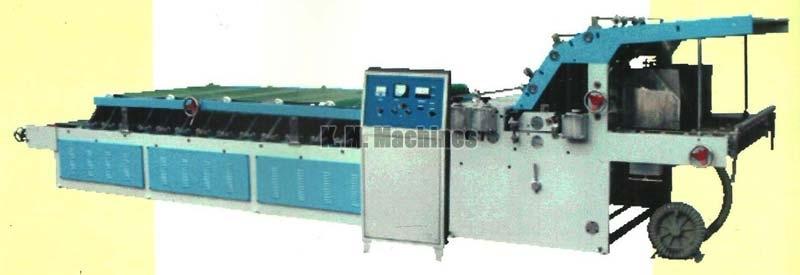 Semi Automatic Flute Lamination Machine