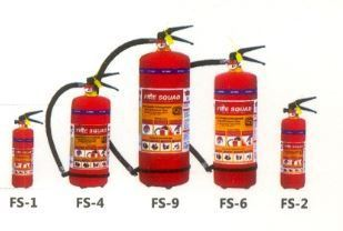 ABC Powder Type Portable Fire Extinguisher