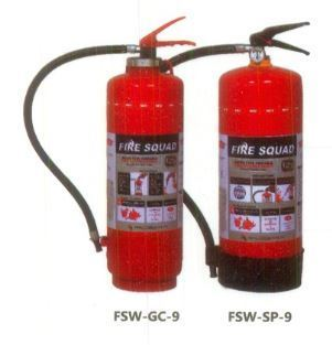 Water Type Portable Fire Extinguisher